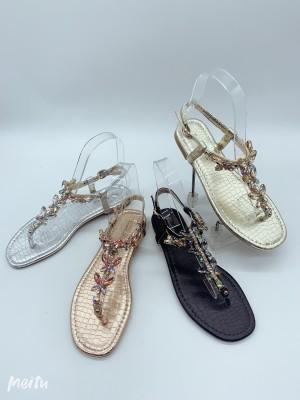 Sandali Kritalčki zlati