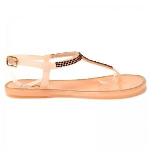 Sandali Gumi roza
