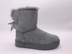 Škornji Pentlja sivi