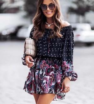 Obleka Dots