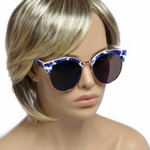 Modna očala Flower modra